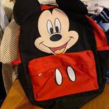 Disney Bags | Kids Back Pack For Barely Beginners | Color: Red | Size: Os