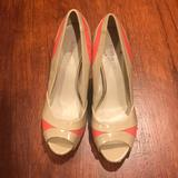 Nine West Shoes   Nine West Peep Toe Shoes   Color: Orange/Red   Size: 6.5