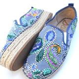Anthropologie Shoes   Never Worn New Sam Edelman Shoes Colorful Blue 8   Color: Blue/Pink   Size: 8