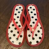 Kate Spade Shoes | Kate Spade Flip Flops | Color: Black/Pink | Size: 8