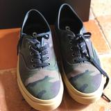 Coach Shoes   Nib Coach Tennis Camo Shoes Green Camo Shoes Sz 10   Color: Black/Green   Size: 10