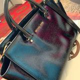 Michael Kors Bags | Michael Kors Black Patent Leather Selma Satchel | Color: Black | Size: Os