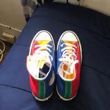 Converse Shoes | Multi Color Converse | Color: Blue/Red | Size: 7
