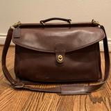 Coach Bags | Classic Coach Beekman Briefcase | Color: Brown | Size: 17 Long X 14 High X 5 Wide
