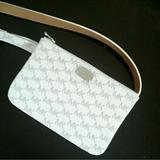 Michael Kors Bags   Michael Kors Women'S Belt Bag   Color: Silver/White   Size: Small