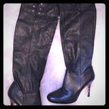Nine West Shoes   Nine West Black Knee High Boots   Color: Black   Size: 7.5