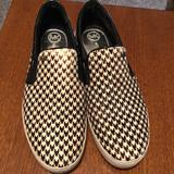 Michael Kors Shoes | Micheal Kors Houndstooth Loafer | Color: Black/White | Size: 8.5