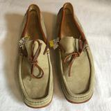 Michael Kors Shoes   Michael Kors   Suede Loafers   Color: Brown/Green   Size: 7.5