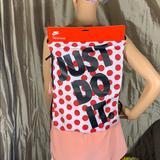 Nike Bags | Nike Jdi Heritage Sports Bag Gymsack Whiteredbla | Color: Red/White | Size: 17 X 13