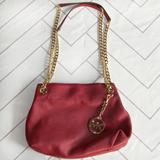 Michael Kors Bags   Michael Kors Chain Strap Red Purse   Color: Gold/Red   Size: Os