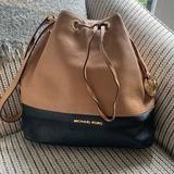 Michael Kors Bags   Michael Kors Jules Bag   Color: Black/Gold/Red/Tan   Size: Os