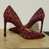 Nine West Shoes | Nwot Nine West Redblack 3.75 Pumps | Color: Black/Red | Size: 5