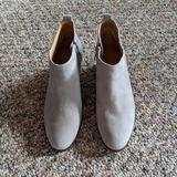 J. Crew Shoes | Grey Ankle Boots | Color: Gray/Silver | Size: 8.5