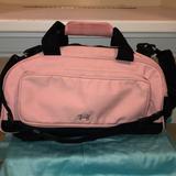 Under Armour Bags | Guc Med Size Vintage Pink Under Armour Gym Bag | Color: Black/Pink | Size: Medium