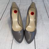 Nine West Shoes   Nine West Nw Wiseup Grey Leather Pump Shoe *New*   Color: Gray   Size: 10
