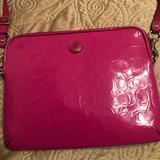 Coach Bags   Coach Mini Computer Tablet Bag   Color: Pink   Size: 8 14 X 10.5