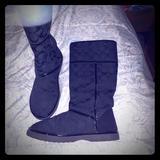 Coach Shoes   Coach Ugg Style Boots Size 8   Color: Black   Size: 8