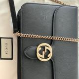 Gucci Bags | Gucci Borsa Interlocking Gg Crossbody | Color: Black | Size: Os