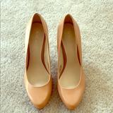 Nine West Shoes | Camel Color Pumps | Color: Tan | Size: 7