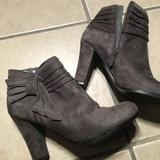 Urban Outfitters Shoes | Grey Ankle Boots | Color: Gray | Size: 7.5