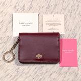 Kate Spade Bags   Kate Spade Nadine Slim Bifold Card Holder Wallet   Color: Gold   Size: Os