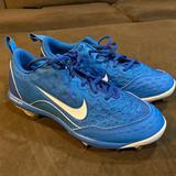 Nike Shoes   Nike Womens Lunar Hyperdiamond 2 Pro Cleats   Color: Blue/White   Size: 7.5