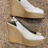 Jessica Simpson Shoes   Jessica Simpson White Platform Heels   Color: White   Size: 7