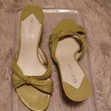 Nine West Shoes   Ladies Sandals   Color: Green   Size: 7.5