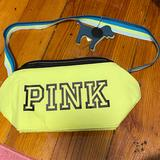 Pink Victoria's Secret Bags | Nwt Pink Insulated Lunchbox | Color: Blue/Yellow | Size: Os