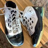 Nike Shoes | Jordan Xvi.5 Nike Jordan 16.5 Youth Size 5.5 | Color: Black/White | Size: 5.5b