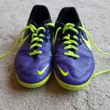 Nike Shoes | Nike Youth Indoor Soccer Shoes. | Color: Purple/Yellow | Size: 6b