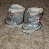 Disney Shoes   Frozen Snow Boots Size 6. New No Tag   Color: Blue/Silver   Size: 6bb