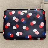 Kate Spade Bags | Kate Spade Polka Dot Laptop Tablet Sleeve Case | Color: Blue/Pink | Size: Os