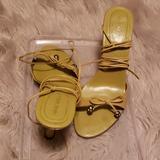 Nine West Shoes | Ladies Sandals | Color: Green | Size: 7.5