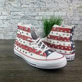 Converse Shoes | New Converse Ctas Studded Americana High Top | Color: Blue/Red | Size: 7.5