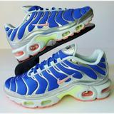 Nike Shoes | New Women'S Nike Air Max Plus Ultraman Blue Meta | Color: Blue/Silver | Size: 6.5