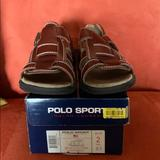 Polo By Ralph Lauren Shoes   Polo Sport Boys Leather Sandals Size 2   Color: Brown   Size: 2bb