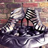 Michael Kors Shoes   Micheal Kors -Black & Metallic Silver Shoes   Color: Black/Silver   Size: 10
