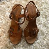 Madewell Shoes   Madewell Heeled Sandals   Color: Tan   Size: 9