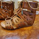 Jessica Simpson Shoes | Jessica Simpson Festival Toddler Girl Sandles Size | Color: Tan | Size: 8g