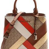 Michael Kors Bags   Michael Kors Adele Medium Messenger Crossbody   Color: Brown/Orange   Size: 9.5l X 8 H X 4.5 W