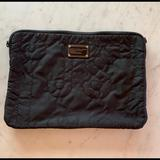 Michael Kors Bags | Michael Kors Quilted Nylon 15 Laptop Case | Color: Black | Size: Os