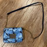 Michael Kors Bags   Michael Kors Leather Crossbody Bag, Blue Floral   Color: Blue   Size: Os
