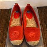 Michael Kors Shoes   Michael Kors Red Orange Espadrilles   Color: Orange/Red   Size: 6.5