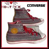 Converse Shoes | Rare Converse Multi-Color Hi-Top Chucks | Color: Gray/Pink | Size: 6