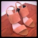 Nine West Shoes | Calvin Klein Tan Safari Dress Sandal | Color: Tan | Size: 9