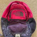 The North Face Bags | Girls North Face Backpack | Color: Gray/Pink | Size: Os