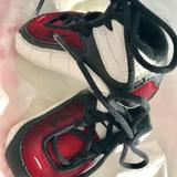 Nike Shoes | Nike Baby Kid Shoe Size 1c Red And White $108 | Color: Red/White | Size: 1c