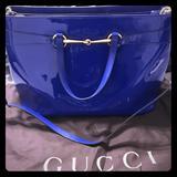 Gucci Bags   Gucci Bright Bit Bag   Color: Blue   Size: Large