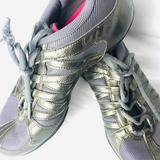 Nike Shoes | Nike Ne Marque Gray Lavender Mesh Aerobic Shoe 7 | Color: Gray/Purple | Size: 7